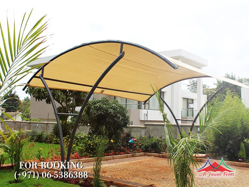 Outdoor مظلات مواقف السيارات suppliers manufacturers Sharjah and Dubai